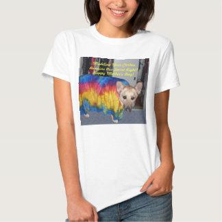 Dia das mães que modela a roupa camiseta