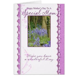 Dia das mães serindo de mãe de domingo da mamã cartão comemorativo