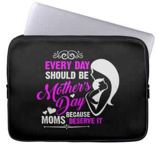 Dia das mães sleeve para laptop
