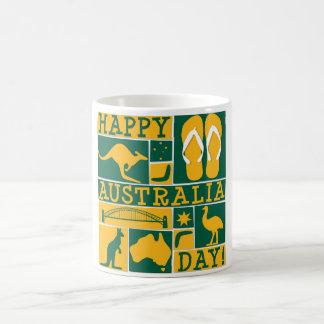 Dia de Austrália Caneca De Café
