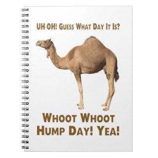 Dia de corcunda caderno espiral