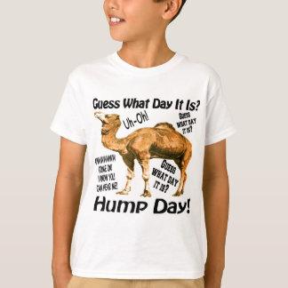 Dia de corcunda camiseta
