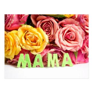 Dia de mãe cartão postal