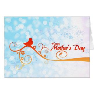 Dia de mãe - happy Mother´s Day Cartão Comemorativo