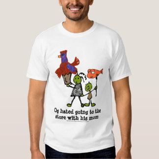 Dia de mercado para Og o Caveboy Camiseta