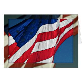 Dia de veteranos, obrigado - cartão militar