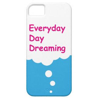 Dia diário que sonha o caso engraçado do iPhone 5 Capas Para iPhone 5