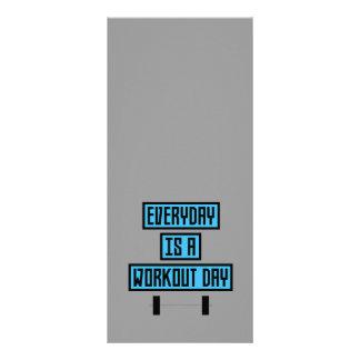 Dia diário Z852m do exercício 10.16 X 22.86cm Panfleto