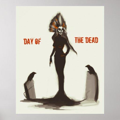 Dia do morto poster