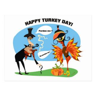 Dia do perdão de Turquia Cartão Postal