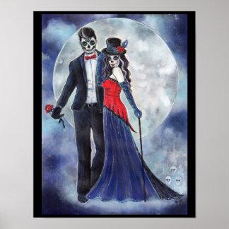 Dia do poster inoperante do casal por Renee Lavoie