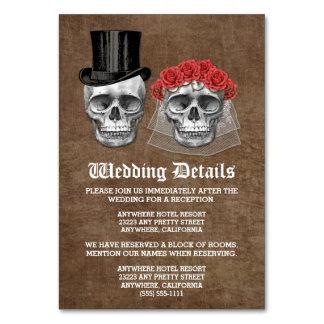 Dia dos cartões inoperantes do cerco do casamento