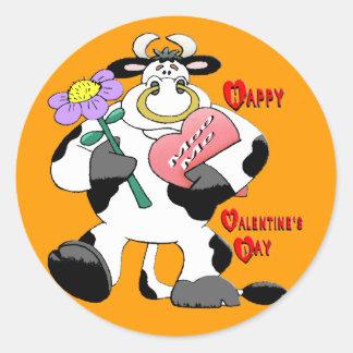 Dia dos namorados Bull Adesivo
