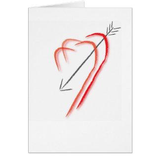 Dia dos namorados cartão comemorativo