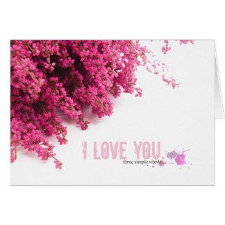 Dia dos namorados do amor cartões