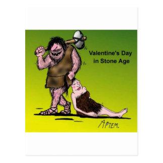 Dia dos namorados engraçado cómico cartão postal