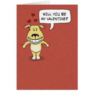 Dia dos namorados engraçado: Corcunda seu pé Cartão Comemorativo