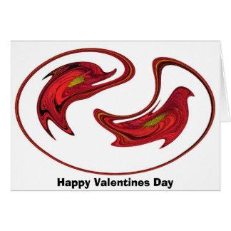 Dia dos namorados feliz cartões