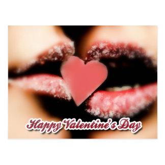 dia dos namorados feliz cartão postal