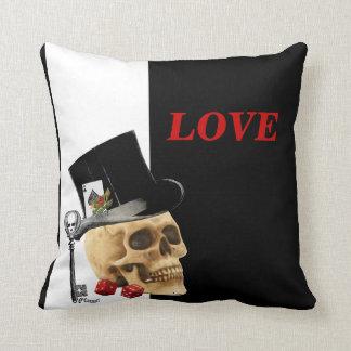 Dia dos namorados gótico romântico do jogador do travesseiros