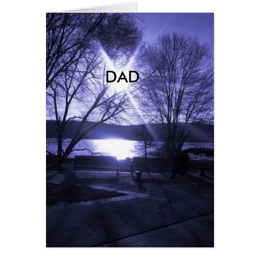 Dia dos pais cartao