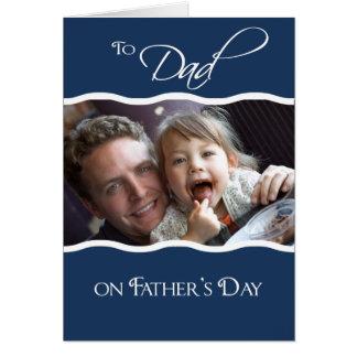 Dia dos pais - cartão com fotos