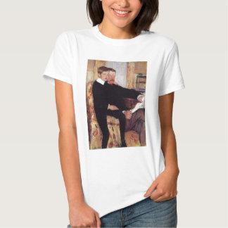 Dia dos pais do filho de Mary Cassatt Camisetas