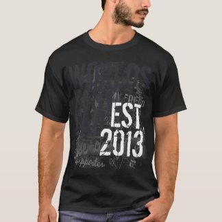 Dia dos pais do Grunge do pai do mundo feito sob Camiseta