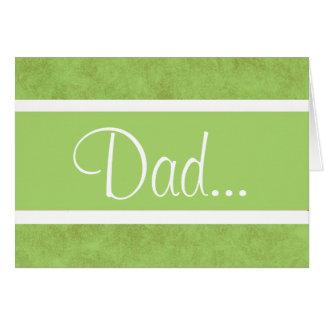 Dia dos pais feliz! cartão comemorativo