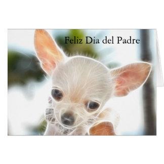 Dia dos pais no cartão espanhol