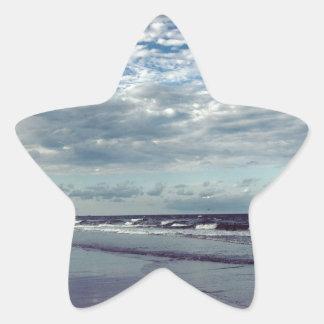 dia ensolarado da praia adesito estrela