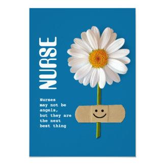 Dia feliz das enfermeiras. Cartões customizáveis Convite 12.7 X 17.78cm