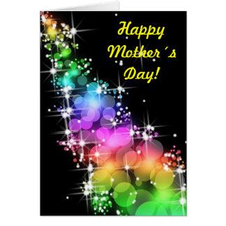 Dia feliz de Mother´s! Cartão