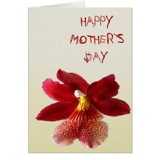 Dia feliz do ` s da mãe cartão comemorativo