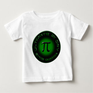 Dia final 2015 do Pi 3.14.15 9:26: 53 (verde) Camiseta Para Bebê