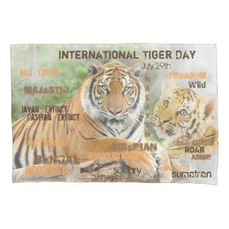 Dia internacional do tigre, o 29 de julho, arte da