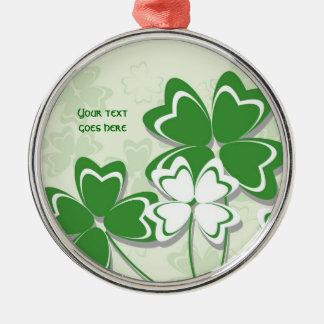 Dia irlandês do St. Patricks do trevo do trevo do Ornamento