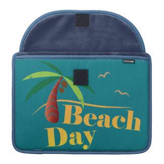 Dia perfeito da praia do verão bolsas MacBook pro