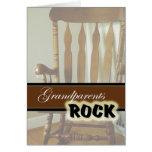 Dia Rocha-Feliz das avós das avós Cartoes