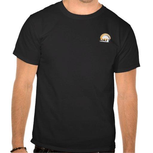 Dia t-shirt PRETO de 1 pinta