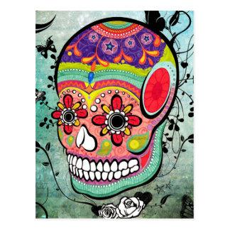 Dia urbano de Muerte do cartão ilustrado morto