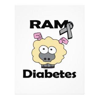 Diabetes de RAM Modelos De Panfleto