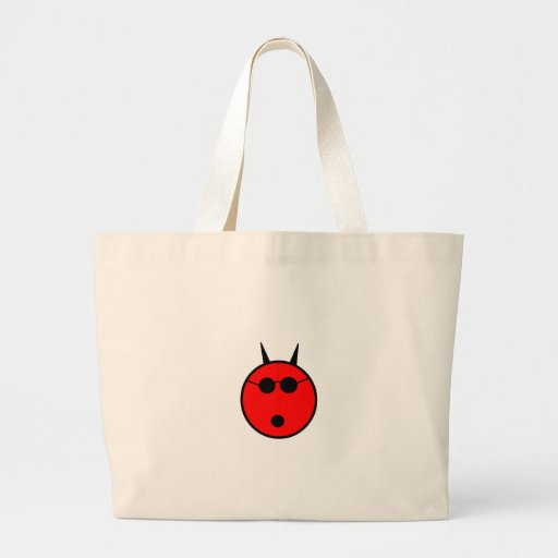 Diabo chocado bolsas de lona