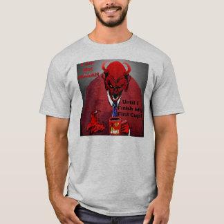 Diabo da cafeína camiseta