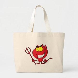 Diabo do Dia das Bruxas dos desenhos animados Bolsa Para Compra