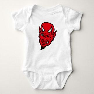 Diabo vermelho de Lil Body Para Bebê
