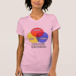 Diagrama de Venn. Técnicos da farmácia Camisetas