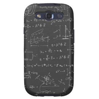 Diagramas e fórmulas da física capa personalizadas samsung galaxy s3