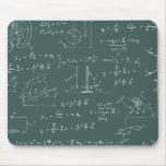 Diagramas e fórmulas da física mouse pads