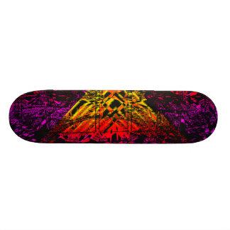 "Diamante abstrato psicadélico 7 7/8"" plataforma do shape de skate 20,6cm"